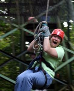 Karen Hanging